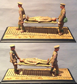 WW1 STRETCHER PARTY 1914-18