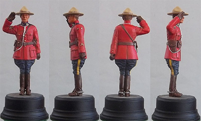 Saluting Royal Canadian Mountie 2015