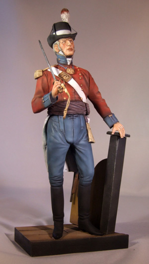British Marine Officer 1807