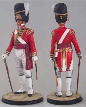 Officer 1st Foot Guards St. James's Palace 1805