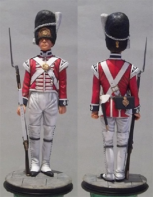 Private First Foot Guards, St. James�s Palace 1805