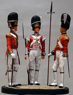 Trio 1st Foot Guards, St James's Palace 1805