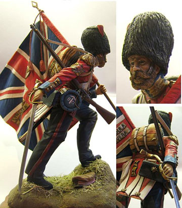 Colour Sergeant Coldstream Guards, Crimea 1854