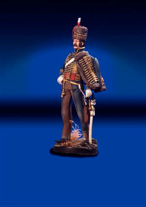 Hussar Officer Waterloo 1815