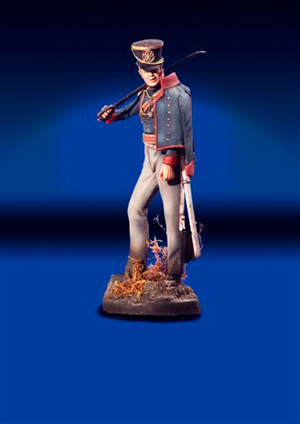 Light Cavalry Officer Waterloo 1815
