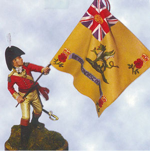 Officer Third (East Kent The Buffs) Regiment Albhura 1811