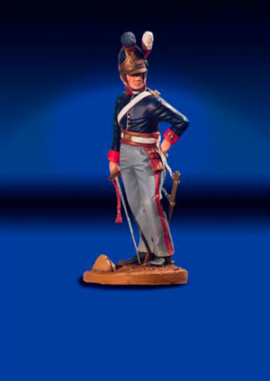Royal Horseguard Officer 1815